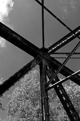 DMAFR Day 4 (3) (momentspause) Tags: canon5dmkiii canonef50mmf18 niftyfifty blackandwhite bw blackandwhitephotography lines bridge illinois roadtrip mississippiriver
