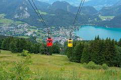Zwoelferhorn Cable Car-E7050102 (tony.rummery) Tags: austria cablecars em10 lake landscape mft microfourthirds mountain omd olympus path stgilgen zwoelferhorn laim salzburg at