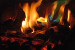 There's Nothing Like Revisiting an Old Flame! (antonychammond (away 4 a month)) Tags: fire flames winter homefire fireplace heat light coal wood hot burning thegalaxy contactgroups