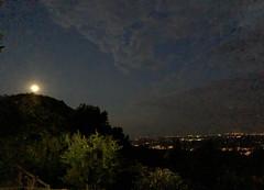 Serenata euganea. (J&Konrad) Tags: euganei padova sera night moon luna paesaggio notturna