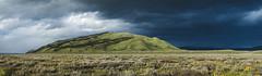 Passing Storm (~Arles) Tags: outdoors nature clouds storm dark light hill wyoming grandtetonnationalpark