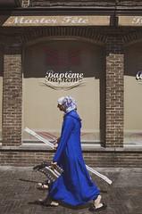 Expected to convert. Molenbeek, June 2018. (joelschalit) Tags: brussels bruxelles belgium belge refugee migrants asylumseekers multiculturalism diversity europe europeanunion ethnicity religion faith god streetphotography portrait arab hijab islam muslim women ricohgr christianity tolerance