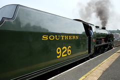 North Yorkshire Moors Railway (spencerdavid25) Tags: railway station nymr whitby locomotive steam smoke repton