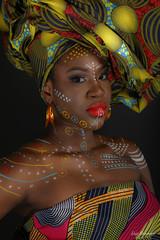 Shooting Boudja - Modèle Carole (Eric Bromme) Tags: boudja shooting studio maquillage makeup femme jeunefemme woman youngwoman mode création femmeafricaine visage couleurs painting bodypainting africanwoman modeethnique