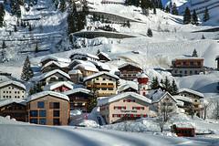 Stuben Day and Night (hapulcu) Tags: alpen alpes alpi alps austria austrija autriche oostenrijk stuben vorarlberg hiver invierno winter österreich