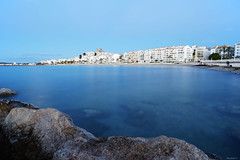 Altea al alba. (lagunadani) Tags: altea alicante amanecer marinabaixa mar mediterraneo playa pueblo spain