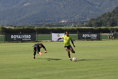 Entrenament stage Olot, 3-08-18