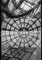 Architectural abstract (Justin Barrie Kelly) Tags: layers selfix1620 konstruktivusmus lightandshadow photographic justinkellyartist radiating window analoguefilm constructivist konstructivismus ilfordfp4 incameradoubleexposure overlapping skylight windows blackandwhite doubleexposure abstracted ensign lightanddark justinkelly photography justinbarriekelly jbkelly quadruppleexposure justinbkelly asymmetric rotunda slanted layered fenestration constructivism lines geometrical architecture ilfosol3 rooflights homeprocessed geometric girders bw abstraction geometry multipleexposure photographicstructure blackandwhitephotography