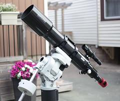 Explore Scientific ED140 CF (AstroBackyard) Tags: explore scientific ed140 refractor astrophotography telescope