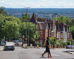 View from Anerley Hill (London Less Travelled) Tags: uk unitedkingdom england britain london southlondon city urban crystalpalace anerley street hill view skyline