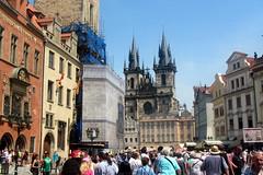 Old Town Square, Prague (Bird Aficionado Stan) Tags: prague czechrepublic oldtownsquare