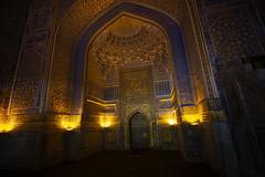 Tilya-Kori Madrasah, Registan Square, Samarkand (El-Branden Brazil) Tags: tilyakorimadrasah madrassa samarkand registansquare uzbekistan asia centralasia islam mosque sacred holy