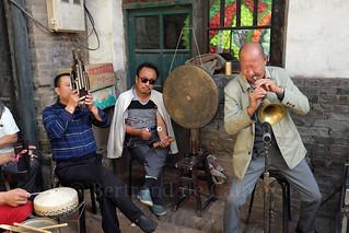 Musiciens lors d'un mariage, Pingyaon
