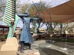 IMG_0556 (Kate Hedin) Tags: frank lloyd wright flw scottsdale spire az arizona city hall monument statue sculpture aiming for mark heloise crista taliesin west phoenix