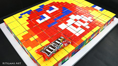 Rubik's Cube Mosaic of Candy of M&Ms (Kitslams Art) Tags: rubikscubeart rubikscube rubikscubedrawing drawingrubikscube rubiksdrawing drawingrubiks rubixdrawing rubix drawingrubix rubixcube twistypuzzle puzzle mindgame puzzleart artwithrubikscube rubikscubemosaics rubikscubeartist twistypuzzlephone artistusesrubikscubes pixelartwithrubikscubes rubikscubepixelart 8bitart 8bit foodart foodartist pixelartwithfood 8bitpixelart diyfoodart foodarts kitslamsart nerdart geekart geek nerd iq mind cartoon funforkids artforkids kidsart creativeart creative whoa awesome fun cute puzzles collection 3x3x3 arts