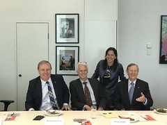 Peter Costello AC, Peter Cooper, Tania de Jong AM, Hugh Morgan AC