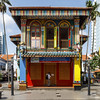 Little India, Singapore (Chicago_Tim) Tags: littleindia little india singapore colorful architecture building patterns color bright traditional indian shutters palmtrees