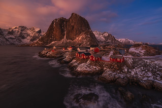 Red Cabins.....Lofoten