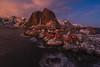Red Cabins.....Lofoten (Toni_pb) Tags: lofoten lofotenislands norway artic redcabins landscape mountain winterscape sony1635f28gm ilce7rm3 ilce7riii sony sonyalpha