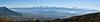 Grenoble (prakharamba) Tags: grenoble vercor city panorama isere belledonne snow neige bastille ville france