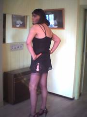 Magda (magdatv) Tags: magda tgurls tranny travestis basàcouture jarretelles hautstalons combinaison salope sissy ffstockings garters