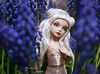 Quicksilver (pure_embers) Tags: pure laura embers porcelain bjd doll dolls england uk girl olgakirillova scarlett pureembers lisette emberslisette photography photo ball joint portrait fine art white hair field purple flowers