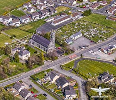 St malachys chapel and graveyard, kilcoo village co down (pak media) Tags: stmalachyschapelandgraveyard kilcoo village codown aerial