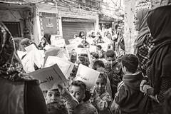 Kids demonstrating in Shatila refugee camp, Beirut, Lebanon (Ingunn Eriksen) Tags: kids children shatila refugeecamp refugees beirut lebanon nikond750 nikon