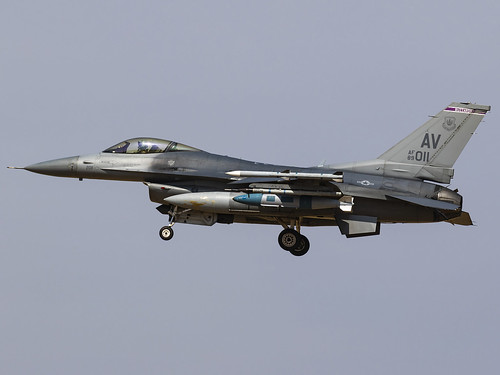 United States Air Force   General Dynamics F-16CM Fighting Falcon   89-2011