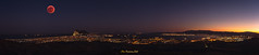 Luna Roja - Panoramica Bahía de Algeciras (PictureJem) Tags: redmoon moon luna lunaroja panorámica nocturna ciudad