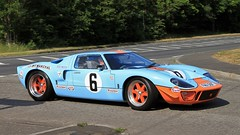 2006 GTD SUPERCARS GT40 Replica FMA 518F (BIKEPILOT, Thx for + 5,000,000 views) Tags: classicsattheclubhousesandfordspringshotelgolfclub kingsclere hampshire uk england britain car sportscar racing gt40 ford 1997 gtdsupercarsgt40 replica llj121f 2006 fma518f 2016 hop130 blue vehicle automobile transport classic