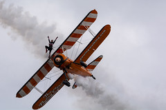 DSC_9554 copy (quintinsmith_ip) Tags: aerosuperbatics flyingcircus 'superstearmans stearmans plane formation flight smoke smoking orange white wingwalkers sunderland 2018