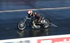 Classic Drag Bike_1909 (Fast an' Bulbous) Tags: moto motorcycle bike biker fast speed poer acceleration motorsport santa pod nikon d7100 gimp outdoor classic oldtimer