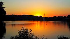 Mindörökké nyár (Szombathely) (milankalman) Tags: summer evening orange lake nature weather