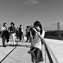 Photo evaluation (pedrosimoes7) Tags: photographer fotógrafo fotoderua blackandwhite lightandshadows lisbon lisboa portugal woman mulher gentedeportugal portuguesepeople blackwhite candid creativecommons cc