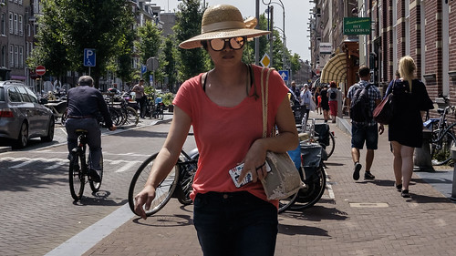 Amsterdam, By Myself, Center, Hat, Netherlands, Street, Sunglasses