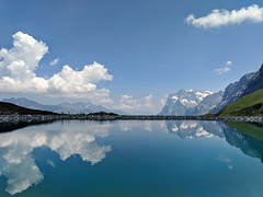 Berner Alpen (Aviller71) Tags: alps alpen reflection reflektion mountains berge berneroberland berneralpen jungfraujoch schweiz suisse switzerland