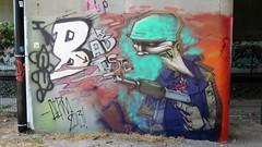 Derm / Zele - 4 aug 2018 (Ferdinand 'Ferre' Feys) Tags: belgium belgique belgië streetart artdelarue graffitiart graffiti graff urbanart urbanarte arteurbano ferdinandfeys zele derm bestof2018be