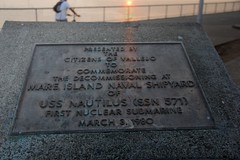 The First Nuclear Submarine Decommissioned Here (SolanoSnapper) Tags: werehere wah monuments 6ws vallejo