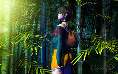 Bamboo (elocuenciaresident) Tags: hair tram h0726 c88 new sweater emery mesh top metal shorts toksik selva backpack atomic forest bamboo taikou afternoon hideout trees
