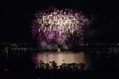 Purple Rain (Redhood Photography) Tags: fireworks feuerwerk fest party lake see wasser sommer sonne nacht nightlife