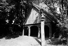 Scan-110921-0019 (marek.golkowski) Tags: poland polska skansen olsztynek analogphotography analog filmphotography monochrome pentax pentaxian cottage vilage