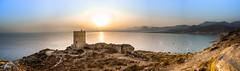 11072017-_DSC0696-Pano (gilpostigo) Tags: cartagena murcia españa spain azohía nikon d3200 gilpostigo laazohía panoramic panorámica playa beach costacálida sunset puestadesol atardecer