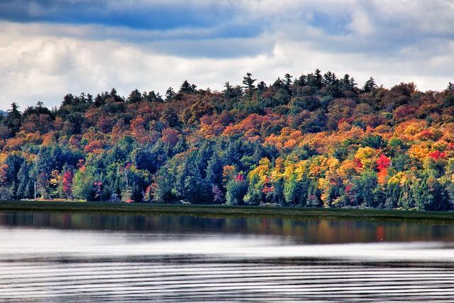 Lake Placid - New York ~ Autumn Colours in the Adirondack Mountains large image