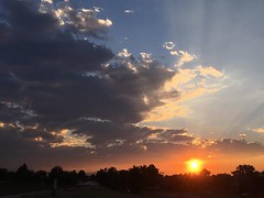 July 24, 2018 - A stunner of a sunset. (LE Worley)