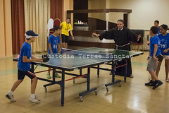 NA_140707_9808 (Custody of the Holy Land - Photo Service (CPS)) Tags: arab arabchristian beithanina christian christianarab christians christiansarabs haithamyalda holyland parish saintjames stjames terrasanta terresainte arabchristians child children franciscan franciscanpastor latinparish nadim pastor pingpong play playing summercamp tabletennis