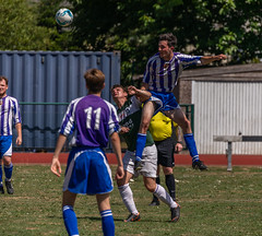 Charity Football (trevorhicks) Tags: tavistock england unitedkingdom gb football ball tackle pitch outdoor players canon 5d mark iv tamron
