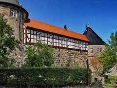 Burg Herzberg (Mecklenburg-Foto) Tags: burg burgruine herzberg hessen fachwerk turm wohnturm
