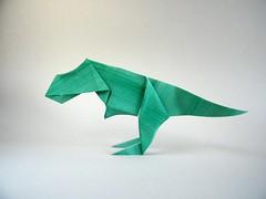 T-Rex - Madiyar Amerkeshev (Rui.Roda) Tags: origami papiroflexia papierfalten tyrannosaurus rex trex madiyar amerkeshev