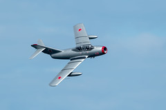 Mikoyan-Gurevich MiG-15 (Simon Stobart) Tags: mikoyangurevich mig15 flying north east england uk